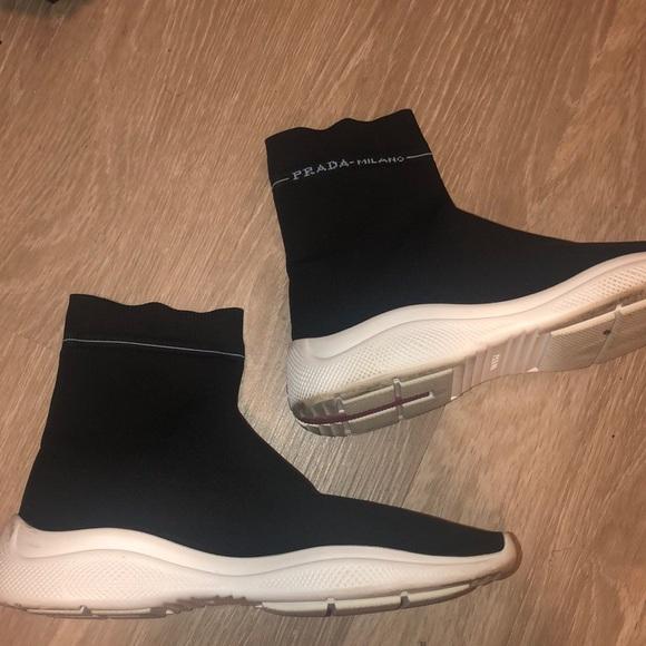 Prada Shoes   Prada Sock Sneakers